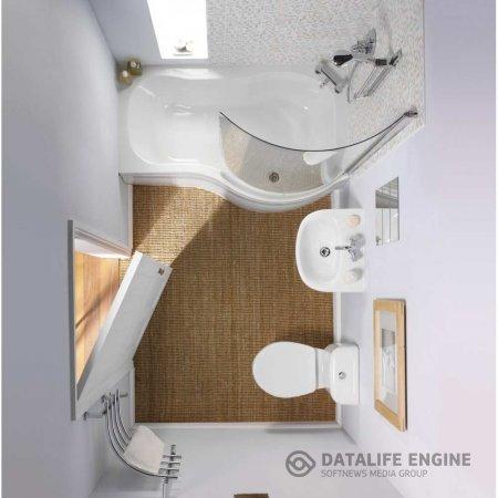 Маленькая ванная: некоторые секреты обустройства