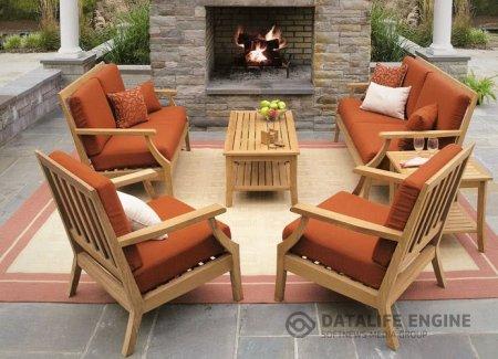Садовая мебель из тика: Основные преимущества