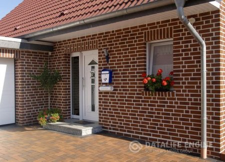 Фасадный кирпич: Разновидность, характеристика, применение