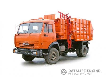 Как проходит вывоз мусора?